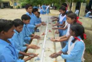 Improving water & sanitation facilities in schools
